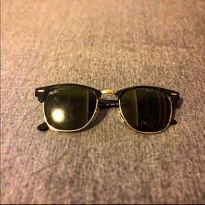 Other - Like-New Rayban Clubmaster Sunglasses